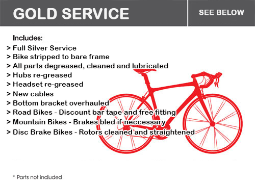 Gold Bicycle Service