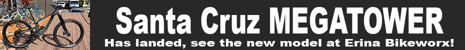 Santa Cruz Megatower has arrived - See our video!