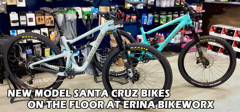 Santa Cruz Bikes at Erina Bikeworx
