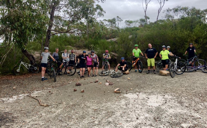 Mt Wondabyne Shop Ride