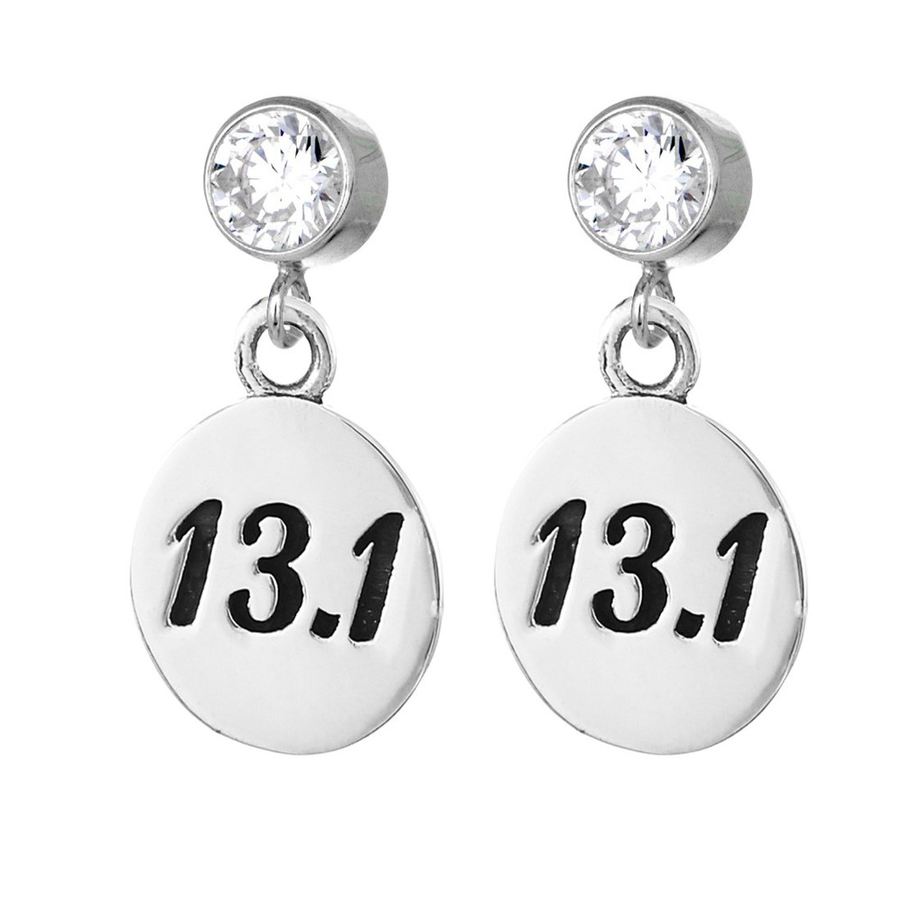 13.1 Half Marathon Earrings