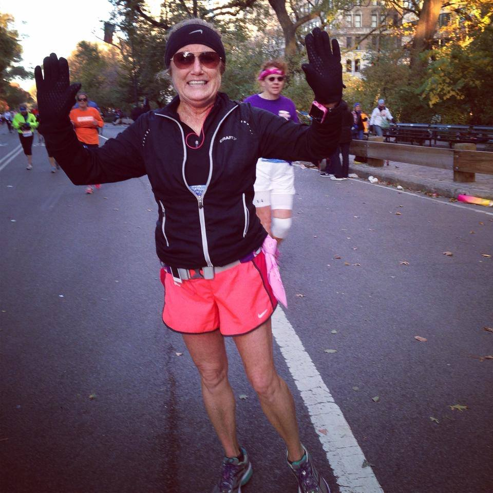 Mel NYC Marathon