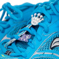 Shoelace Charms on Running Shoe