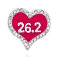 Pink 26.2 Marathon Shoelace Charm