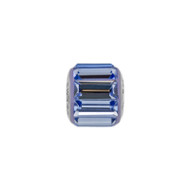 Sapphire Blue Crystal baguette