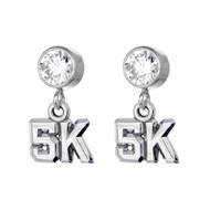 5K CZ Stud Earrings