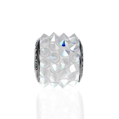 Side of Swarovski Crystal Spike Bead
