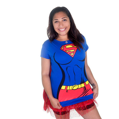 Super Girl running tee