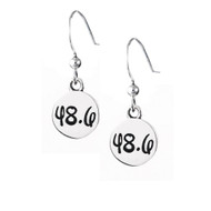 dopey 48.6 sterling hook earrings