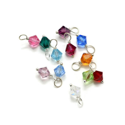 Swarovski crystal birthstone color chart for available crystals.