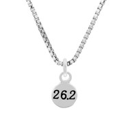 26.2 Mini Charm On Box Chain Necklace