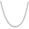 Stainless Steel Ball Chain necklace.