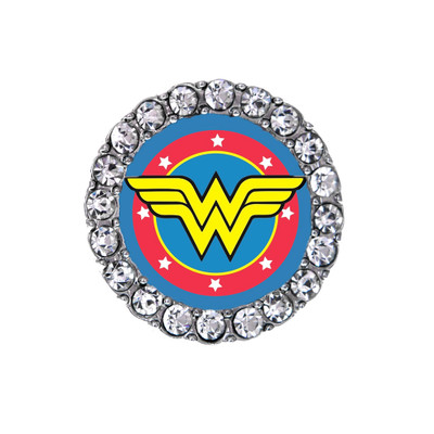 Wonder Woman sneaker charm original logo