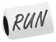 Runner Girl bead with word RUN.