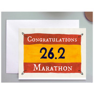 Congratulations on your Marathon Card