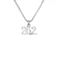 26.2 Sterling Silver Mini Charm Necklace