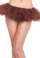 Brown Organza Tutu