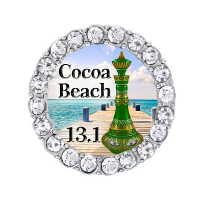 Cocoa Beach 13.1 Green Genie bottle sneaker Charm.