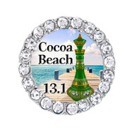 Cocoa Beach 13.1 Green Genie bottle sneaker Charm.