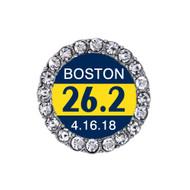 Boston Marathon Sneaker Charm