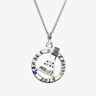 2018 Space Coast Mercury Pendant necklace
