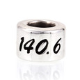 140.6 Sterling Silver European bead