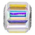 AB Swarovski crystal baguette bead
