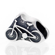 Sterling Silver European Bike Bead.