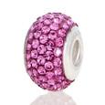 Pink Swarovski Crystal bead