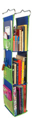 LockerWorks Hanging Organizer - Royal blue/green