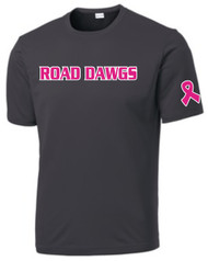 NEVADA ROAD DAWGS CANCER AWARENESS ADULT DRIFIT SHIRT