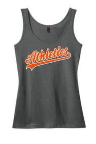 Athletics Warm Grey Ladies Model Blend Tank