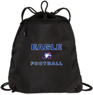 """EAGLE FOOTBALL"" DRAW STRING CINCH PACK"