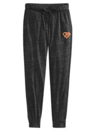 ATHLETICS ECO BLACK JERSEY PANT WITH LOGO