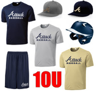 ATTACK BASEBALL 10U PLAYER PACKAGE