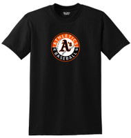 ATHLETCIS ADULT and YOUTH T SHIRT WITH ATHLETICS CIRCLE LOGO