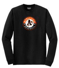 ATHLETCIS ADULT LS SHIRT WITH ATHLETICS CIRCLE LOGO
