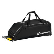 STORM EASTON BLACK WHEELED PLAYERS BAG WITH LOGO AND NUMBER