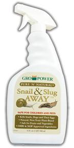 Gro-Power Pure 'n' Natural Snail & Slug Away RTU Sprayer