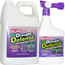 Soil Logic Drought Defense - 32 ounce RTS/1 gallon refill combo