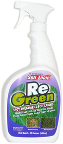Soil Logic ReGreen - 32 ounce (quart) trigger spray bottle
