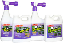 Soil Logic Liquid Gypsum and Drought Defense RTS w/refill combo