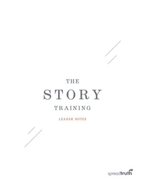 The Story Training Leader Notes