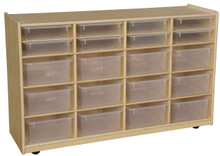 WD990330CT Bin Storage with Translucent Trays