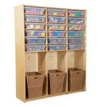 WD990343CT Cubby Locker with Translucent Trays