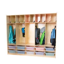 WD990316CT Five Section Locker with Translucent Trays