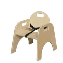 """WD80900BT Woodie, 9"""" Seat Height, Packed (1) Per Carton, includes belt strap"""