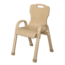"WD91401 Stackable Bentwood Kids Chair, 14"" Height"