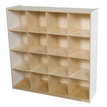 WD50916WHT 16 Big White Cubby Storage