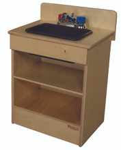 WD20200BN Tot Sink with Brown Knobs